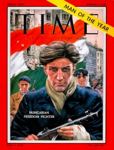 TIME cover - Hungarian freedom fighter